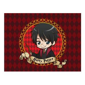 Anime Harry Potter Postkarte