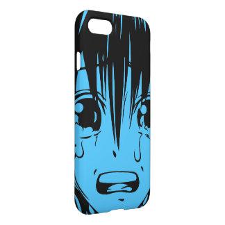 Anime iphone 7 Fall: Schreiendes Mädchen iPhone 8/7 Hülle