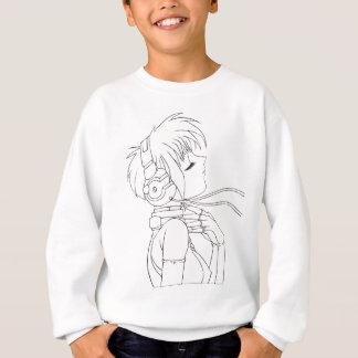Anime-Mädchen Sweatshirt