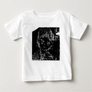 Anime manga tägliches schwarzes Projekt Baby T-shirt