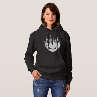 Anime-mit Kapuze Sweatshirt: Schreiendes Mädchen Hoodie