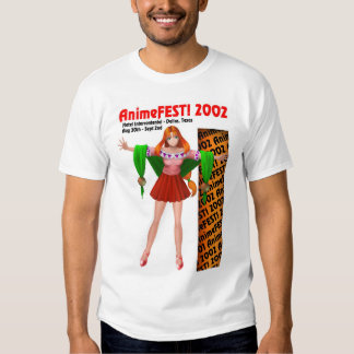AnimeFEST! Vor-Betrug Shirt 2002