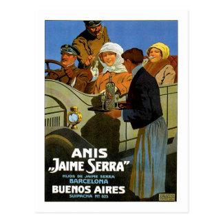 Anis Jaime Serra Buenos Aires Postkarte