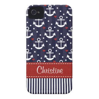 Anker iPhone 4 Abdeckung Case-Mate-4s nautisch Case-Mate iPhone 4 Hüllen