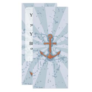Anker mit Kette Karte