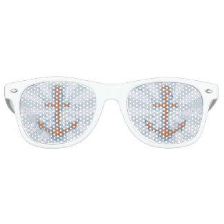 Anker mit Kette Retro Sonnenbrillen
