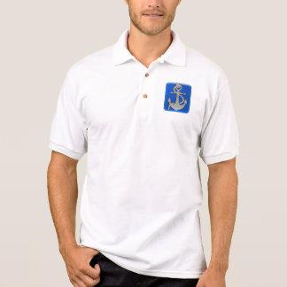 Anker mit Seil Polo Shirt