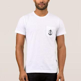 Anker-Monogramm-Florida-Taschen-Shirt T-Shirt