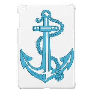 Anker - Nachahmung der Stickerei iPad Mini Hülle
