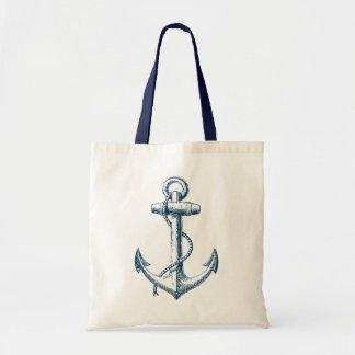 Anker-SeeTaschen-Taschen-Geschenk-Marine-Blau-Weiß