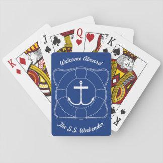 Anker-u. Lebensretter-Spielkarten (Lite-Druck) Spielkarten
