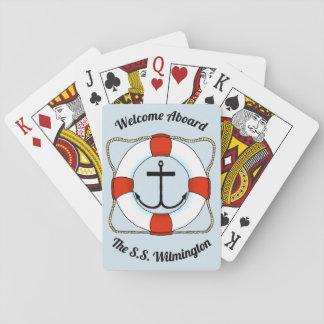 Anker-u. Lebensretter-Spielkarten Spielkarten
