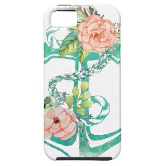 Anker und Rosen iPhone 5 Hülle