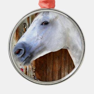 Anker unten - Pletcher Rundes Silberfarbenes Ornament