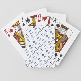 Anker weg Spielkarten (dunklen Druck)