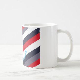 Anker zerteilt kaffeetasse