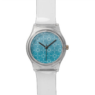 Ankermuster Armbanduhr