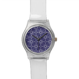 Ankermuster Uhr