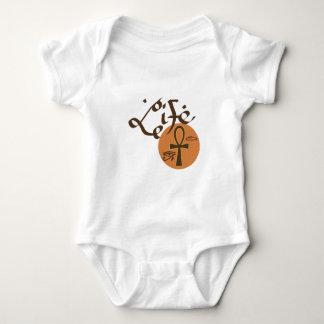 Ankh Leben Baby Strampler