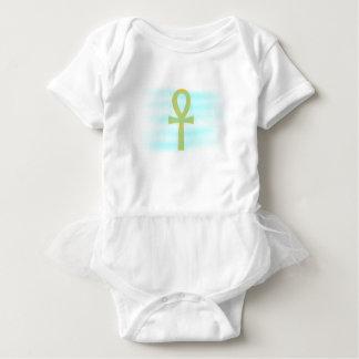 Ankh Schlüssel des Leben-Schlüssels des Baby Strampler