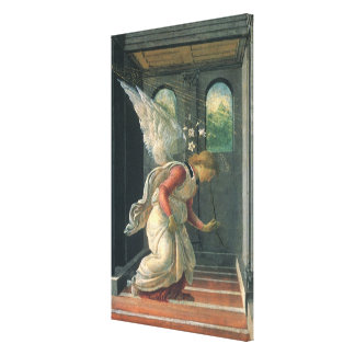 Ankündigung (Engelsdetail) durch Sandro Botticelli Leinwanddruck
