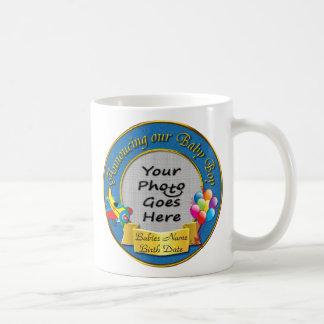 Ankündigung unserer Baby-Jungen-Andenken-Tasse Tasse