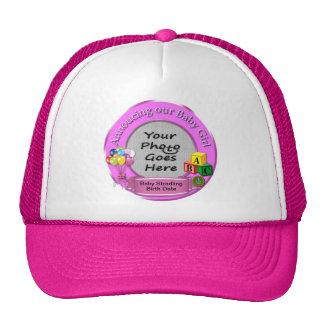 Ankündigung unseres Baby-Fernlastfahrer-Hutes Kult Mützen