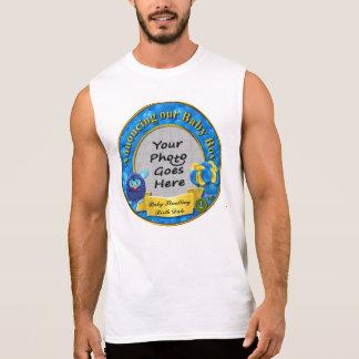 Ankündigung von Stradling Familien-Baby-Kleidung Ärmellose T-Shirts