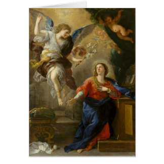 Ankündigungs-Engel gesegnete Jungfrau Mary Karte