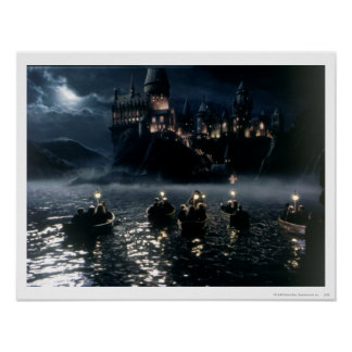 Ankunft bei Hogwarts Poster