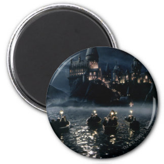 Ankunft bei Hogwarts Runder Magnet 5,1 Cm