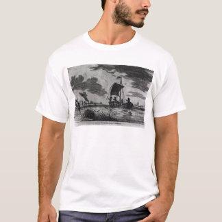 Ankunft Englisch in Roanoke T-Shirt
