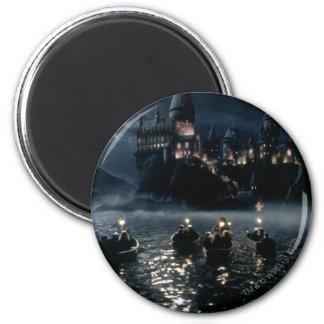 Ankunft Harry Potter-Schloss-| bei Hogwarts Runder Magnet 5,1 Cm