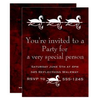 Anlass-Party Karte