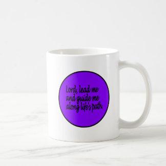 Anleitungsgebetsbecher Kaffeetasse