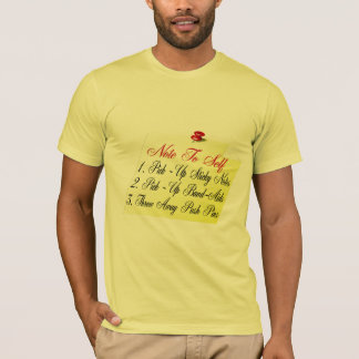 Anmerkung zum Selbst T-Shirt