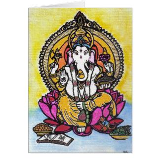 Anmerkungen Lords Ganesha Karte