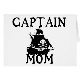 Anmerkungs-Karte Kapitän-Mom Karte