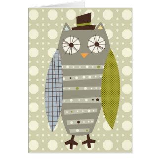 Anmerkungskarte Herrn Owl Karte