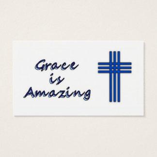 Anmut ist - Kreuz fantastisch Visitenkarte