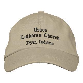 Anmut-lutherische Kirchen-Baseball-Mütze Bestickte Kappe