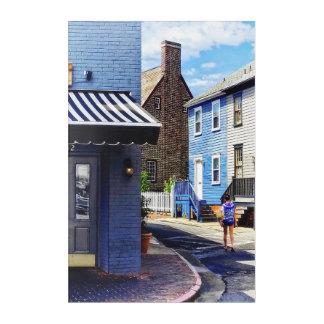 Annapolis MD - Schlendern entlang Pinkney Straße Acryldruck