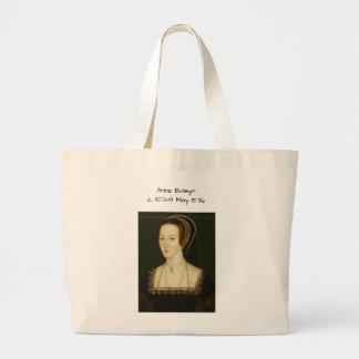 Anne Boleyn Jumbo Stoffbeutel