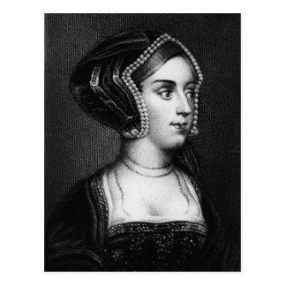 Anne Boleyn Postkarte