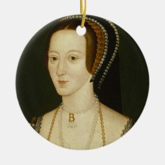 Anne- Boleyn und Henryviii Verzierung Keramik Ornament