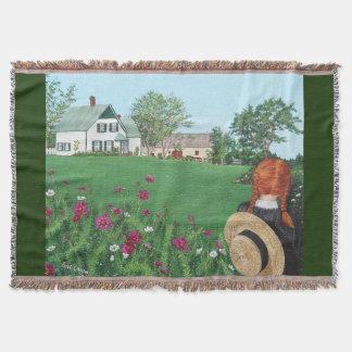 Anne der grünen Giebel-Wurfs-Decke Decke