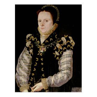 Anne Russell, Gräfin von Warwick, c.1565 Postkarte