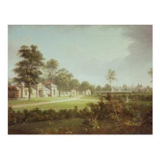 Annefield mit Glasgow jenseits, c.1800 Postkarte