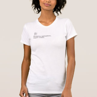 Annehmen von Anwendungen T-Shirt