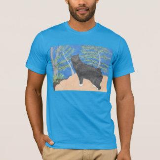 Annie die Manx Katze durch Julia Hanna T-Shirt